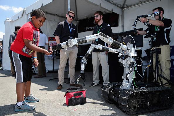 Robot Arm「DARPA Robotics Challenge Showcases Cutting Edge In Artificial Intelligence」:写真・画像(19)[壁紙.com]
