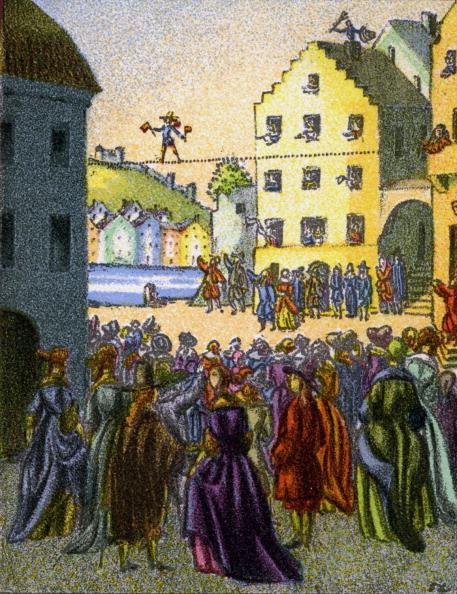 Tightrope Walking「Die Glücksritter by Joseph von Eichendorff」:写真・画像(14)[壁紙.com]