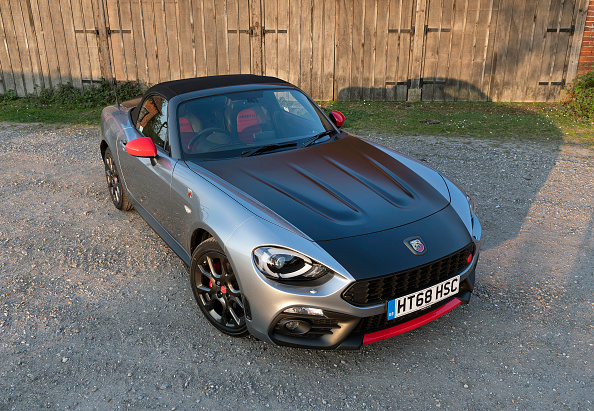 Finance and Economy「2018 Fiat 124 Abarth Spider.」:写真・画像(13)[壁紙.com]