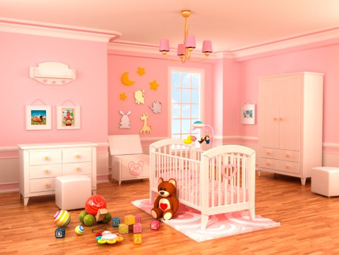 Teddy Bear「Nursery room」:スマホ壁紙(1)