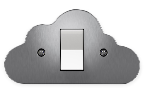 Light Switch「Aluminium light switch in the shape of a cloud」:スマホ壁紙(6)