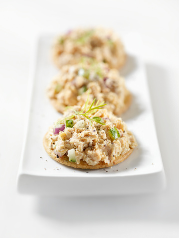 Biscuit「Salmon Salad Canapes」:スマホ壁紙(8)