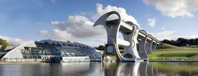 Canal「Falkirk Wheel and Visitor Centre.」:スマホ壁紙(17)