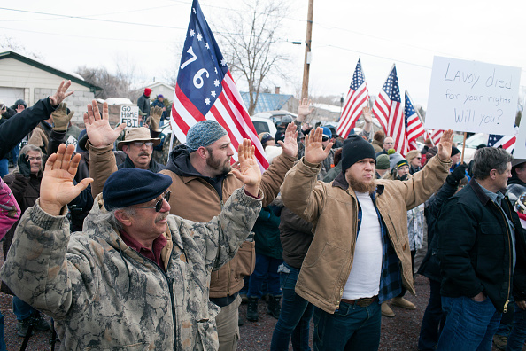 Malheur National Wildlife Refuge「Anti-Government Protesters Continue To Occupy National Wildlife Refuge After Leaders Arrested, And One Dead」:写真・画像(11)[壁紙.com]