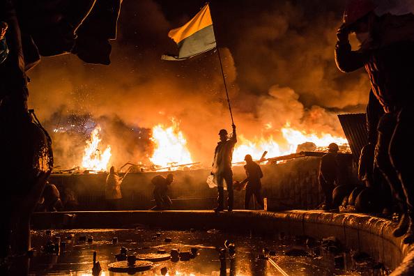 Ukraine「Violence Escalates As Kiev Protests Continue」:写真・画像(1)[壁紙.com]