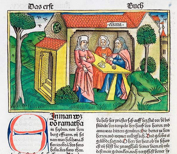 Circa 15th Century「1 Samuel 1:8: Elkanah Comforts Hannah」:写真・画像(15)[壁紙.com]