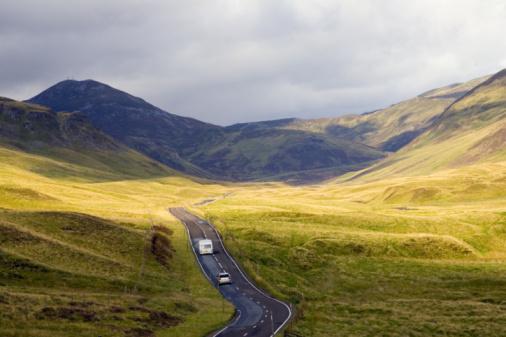 Rolling Landscape「The Grampian Mountains, Scotland」:スマホ壁紙(19)