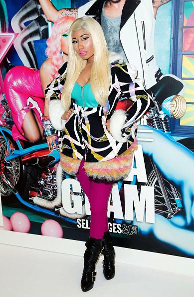 Tulle Netting「Nicki Minaj For MAC - Photocall」:写真・画像(8)[壁紙.com]