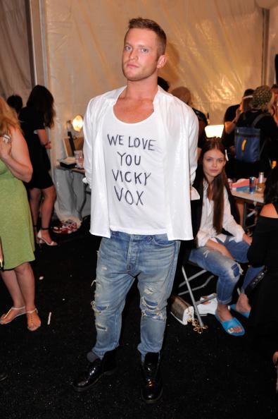 Stephen Lovekin「August Getty - Backstage - Mercedes-Benz Fashion Week Spring 2015」:写真・画像(18)[壁紙.com]