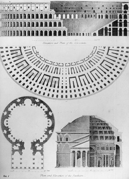 Architectural Feature「Pantheon Plan」:写真・画像(13)[壁紙.com]