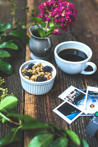 Memories「Morning breakfast coffee lifestyle still life conceptual photography background.」:スマホ壁紙(13)