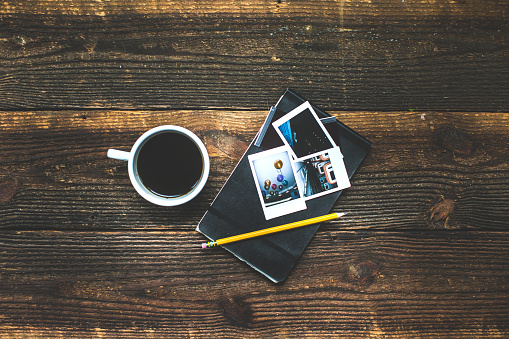Instant Print Transfer「Morning breakfast coffee lifestyle still life conceptual photography background.」:スマホ壁紙(0)