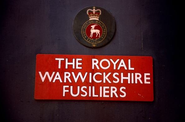 Nameplate「Nameplate and badge on locomotive The Royal Warwickshire Fusiliers. C1993」:写真・画像(10)[壁紙.com]
