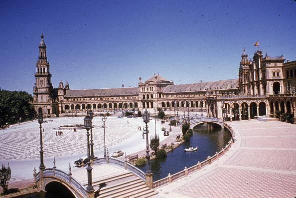 Town Square「Plaza de Espana, Seville, Spain」:写真・画像(4)[壁紙.com]