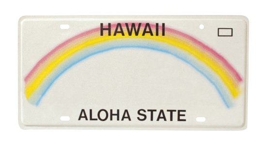 Rainbow「car license plate for state of Hawaii」:スマホ壁紙(18)