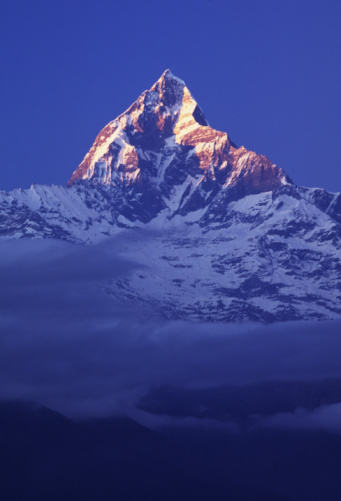 Annapurna Conservation Area「Machhapuchre (Fishtail) Mountain in the Annapurna Himalaya Range」:スマホ壁紙(11)