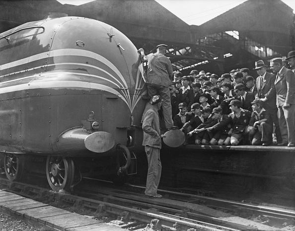 Euston Station「Coronation Class Locomotive」:写真・画像(19)[壁紙.com]