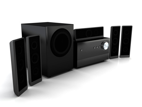 Surrounding「Compact home theater system」:スマホ壁紙(1)