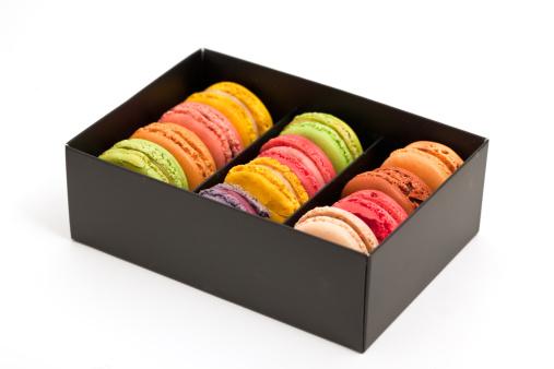 Macaroon「french macaroons in a box」:スマホ壁紙(7)