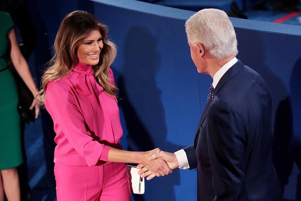 Missouri「Candidates Hillary Clinton And Donald Trump Hold Second Presidential Debate At Washington University」:写真・画像(12)[壁紙.com]