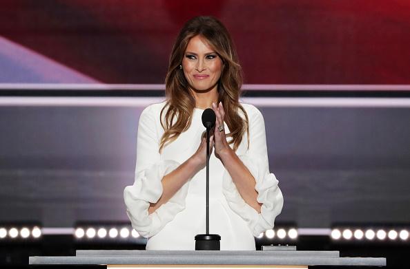 Melania Trump「Republican National Convention: Day One」:写真・画像(3)[壁紙.com]