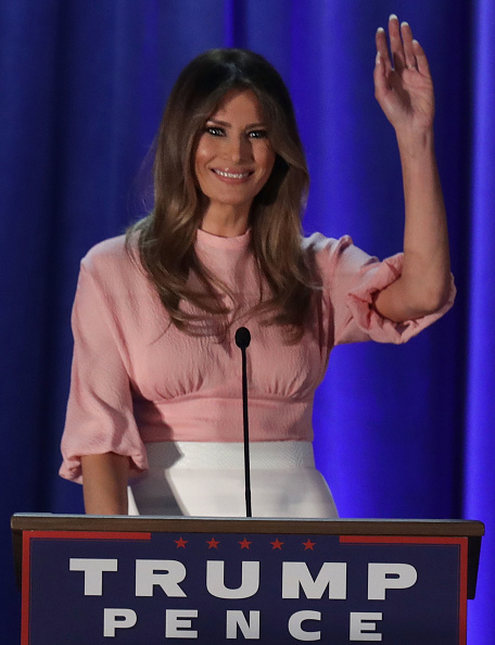 Event「Melania Trump Campaigns For Her Husband In Pennsylvania」:写真・画像(9)[壁紙.com]
