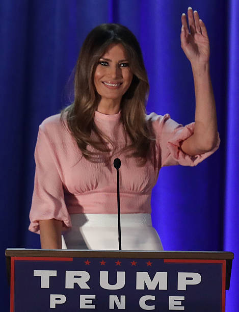 Melania Trump Campaigns For Her Husband In Pennsylvania:ニュース(壁紙.com)