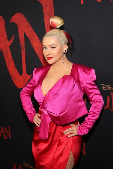 "Christina Aguilera「Los Angeles World Premiere Of Disney's ""Mulan""」:写真・画像(0)[壁紙.com]"