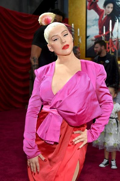 "Christina Aguilera「Premiere Of Disney's ""Mulan"" - Red Carpet」:写真・画像(18)[壁紙.com]"