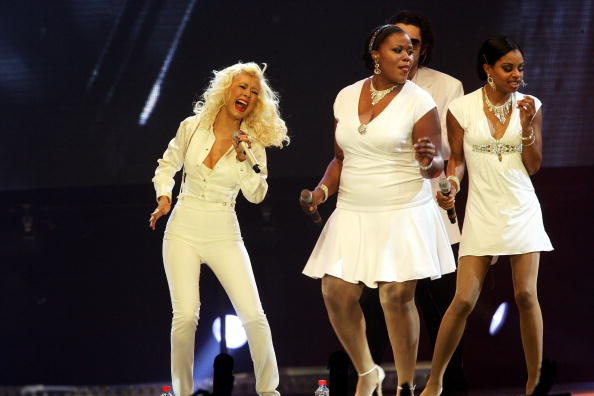 Back To Basics - Album Title「Christina Aguilera Plays Wembley Arena」:写真・画像(18)[壁紙.com]