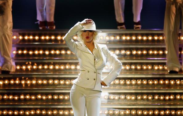 Back To Basics - Album Title「Christina Aguilera Plays Wembley Arena」:写真・画像(0)[壁紙.com]