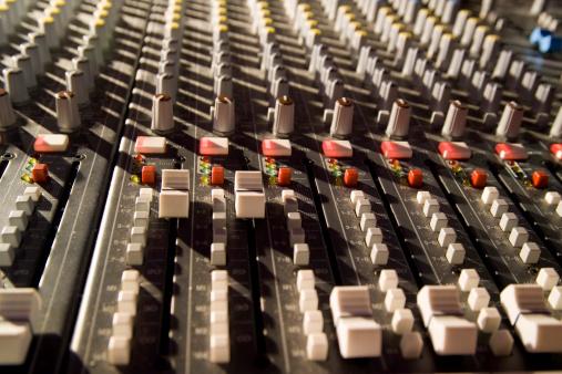 Rock Music「Sound mixer at rock concert」:スマホ壁紙(18)