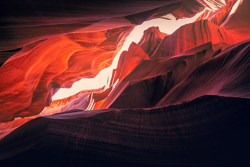 Eroded「Antelope Canyon」:スマホ壁紙(12)