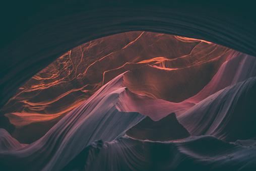Indigenous Culture「Antelope Canyon, Arizona, USA」:スマホ壁紙(9)