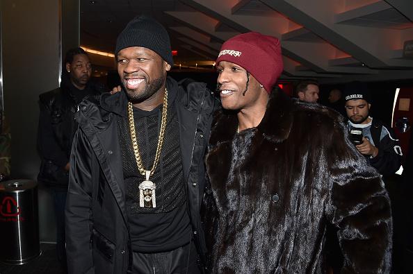 50 Cent - Rapper「Kanye West Yeezy Season 3 - Backstage」:写真・画像(6)[壁紙.com]