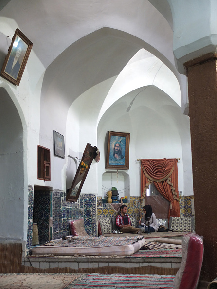Tea Room「Couple in Old Hammam」:写真・画像(9)[壁紙.com]