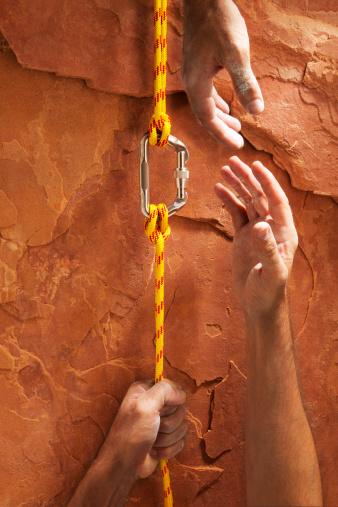 Hand「Climbing Up a Red Rock」:スマホ壁紙(17)