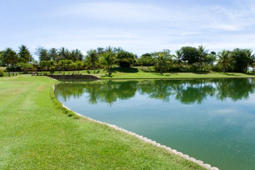 Northern Mariana Islands「Pond in the golf course, Saipan, USA 」:スマホ壁紙(11)