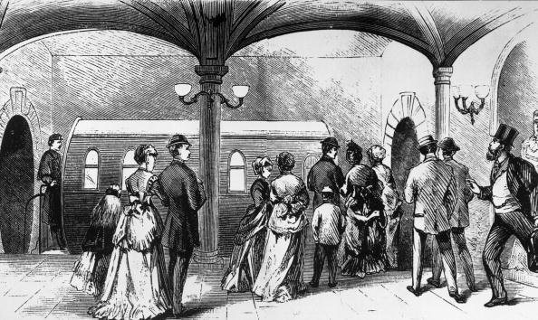 1870-1879「First US Subway」:写真・画像(9)[壁紙.com]