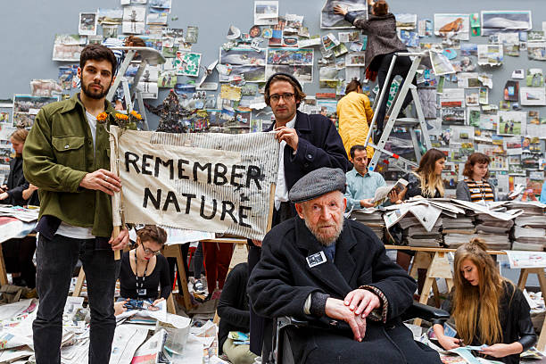 A Worldwide Call By Artist Gustav Metzger To Remember Nature:ニュース(壁紙.com)