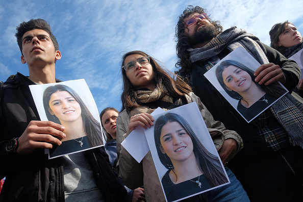 Sean Gallup「Protesters Demand Freedom For Sara Mardini」:写真・画像(3)[壁紙.com]