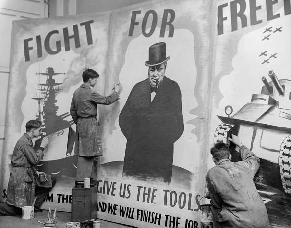 Fred Morley「Wartime Poster」:写真・画像(11)[壁紙.com]