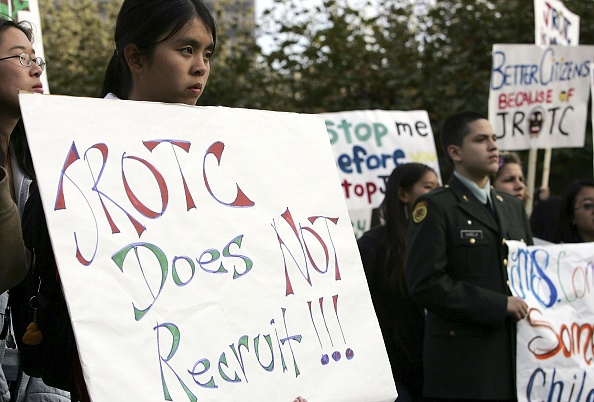Variation「JROTC Members Protest Bid To Remove Program From San Francisco Schools」:写真・画像(6)[壁紙.com]
