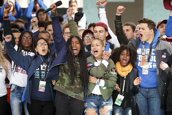 Student「Hundreds Of Thousands Attend March For Our Lives In Washington DC」:写真・画像(14)[壁紙.com]