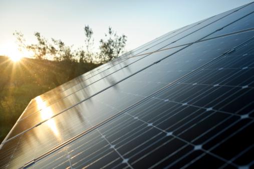 Solar Power Station「Solar Energy Panel with sun」:スマホ壁紙(18)