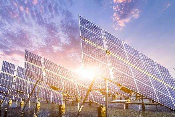 solar energy panels and wind turbines:スマホ壁紙(壁紙.com)