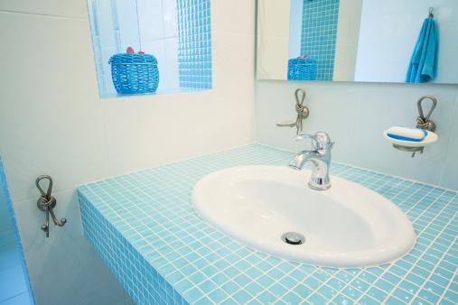 Hot Tub「Bathroom. Modern luxury interior」:スマホ壁紙(1)