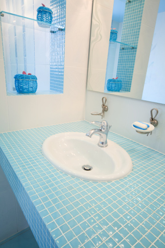 Ceramics「Bathroom. Modern luxury interior」:スマホ壁紙(10)