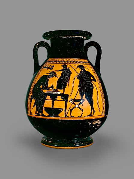 Vase「Attic Black-Figure Pelike」:写真・画像(8)[壁紙.com]