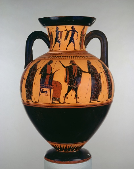 Ancient Greece「Attic Black-Figure Neck Amphora」:写真・画像(19)[壁紙.com]